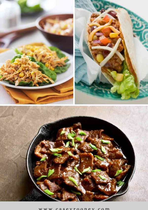 3 HEALTHY CROCKPOT RECIPES