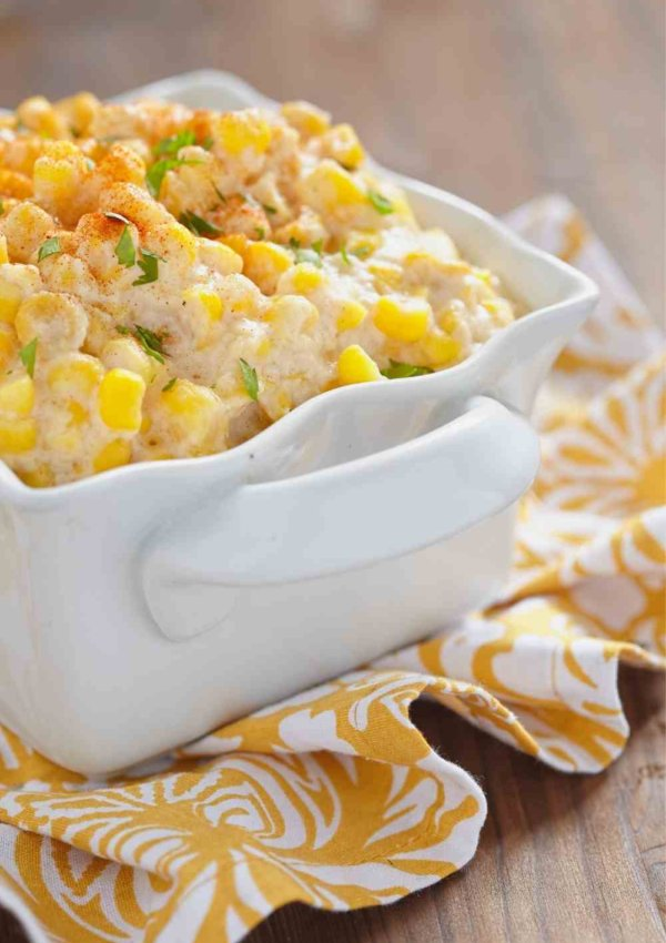 Cheesy Bacon and Corn Crack Dip