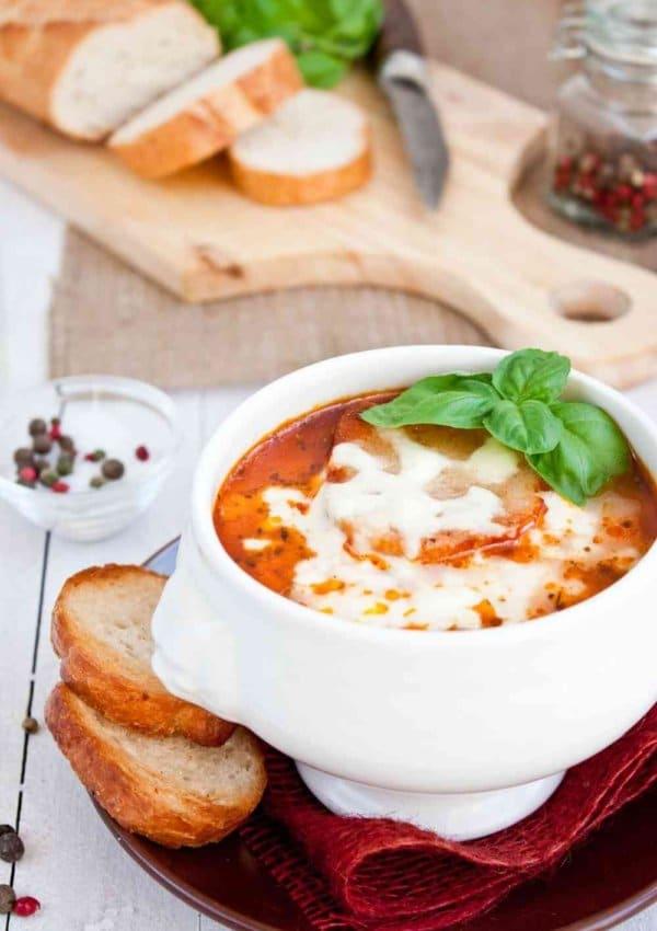 The Best Crockpot Lasagna Soup