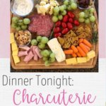 Easy Charcuterie Board   Need ideas for a simple charcuterie board? Charcuterie boards can be as fancy or as simple as you want them to be! In this blog post, I show how I make charcuterie family friendly! This charcuterie board idea includes most items from Trader Joes and can be put together very quickly! Charcuterie boards are perfect for a simple fall dinner or can even be glammed up for your next holiday party! Enjoy! #charcuterieboard #charcuterie #charcuterieboardideas