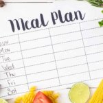picture of meal planning sheet
