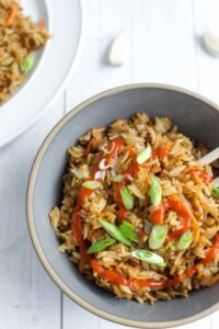 Bacon and Garlic Fried Rice