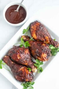 Perfect Air Fryer BBQ Chicken