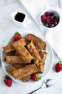 Easy Air Fryer French Toast Sticks