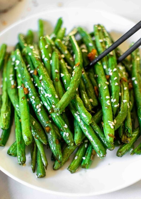 Chinese Style Air Fryer Green Beans