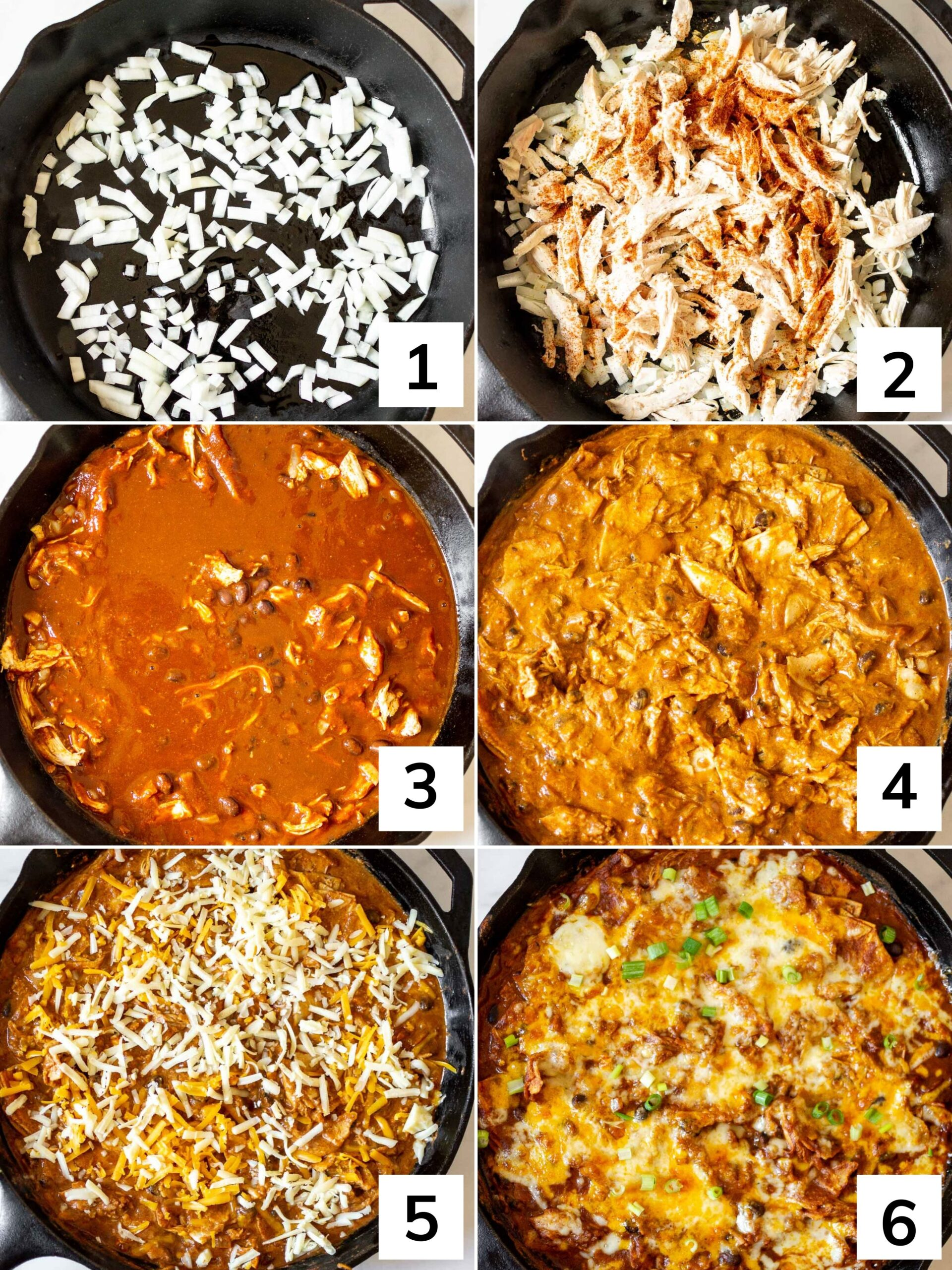 How to make this enchilada skillet step by step instructions.