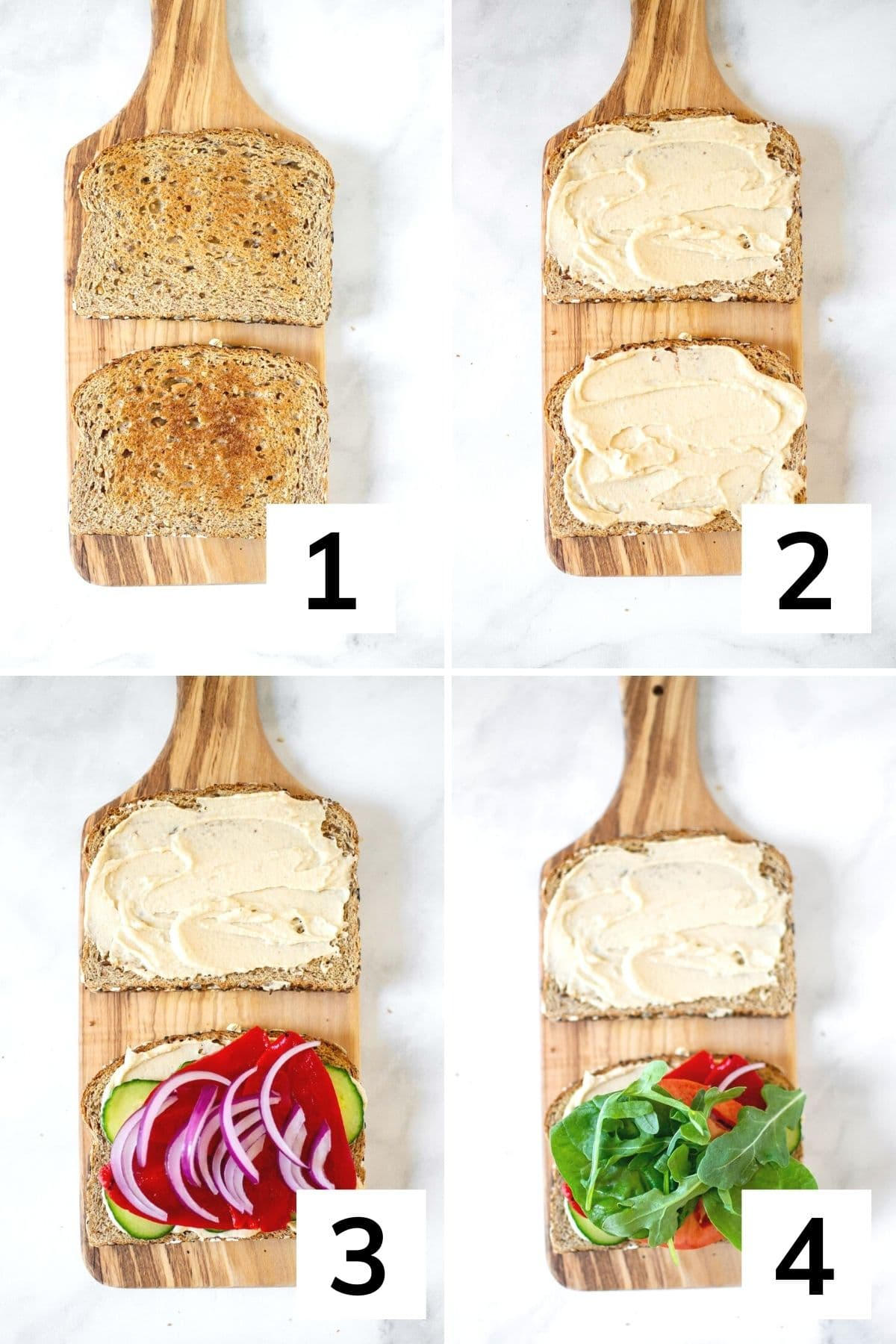 How to make this sandwich step by step