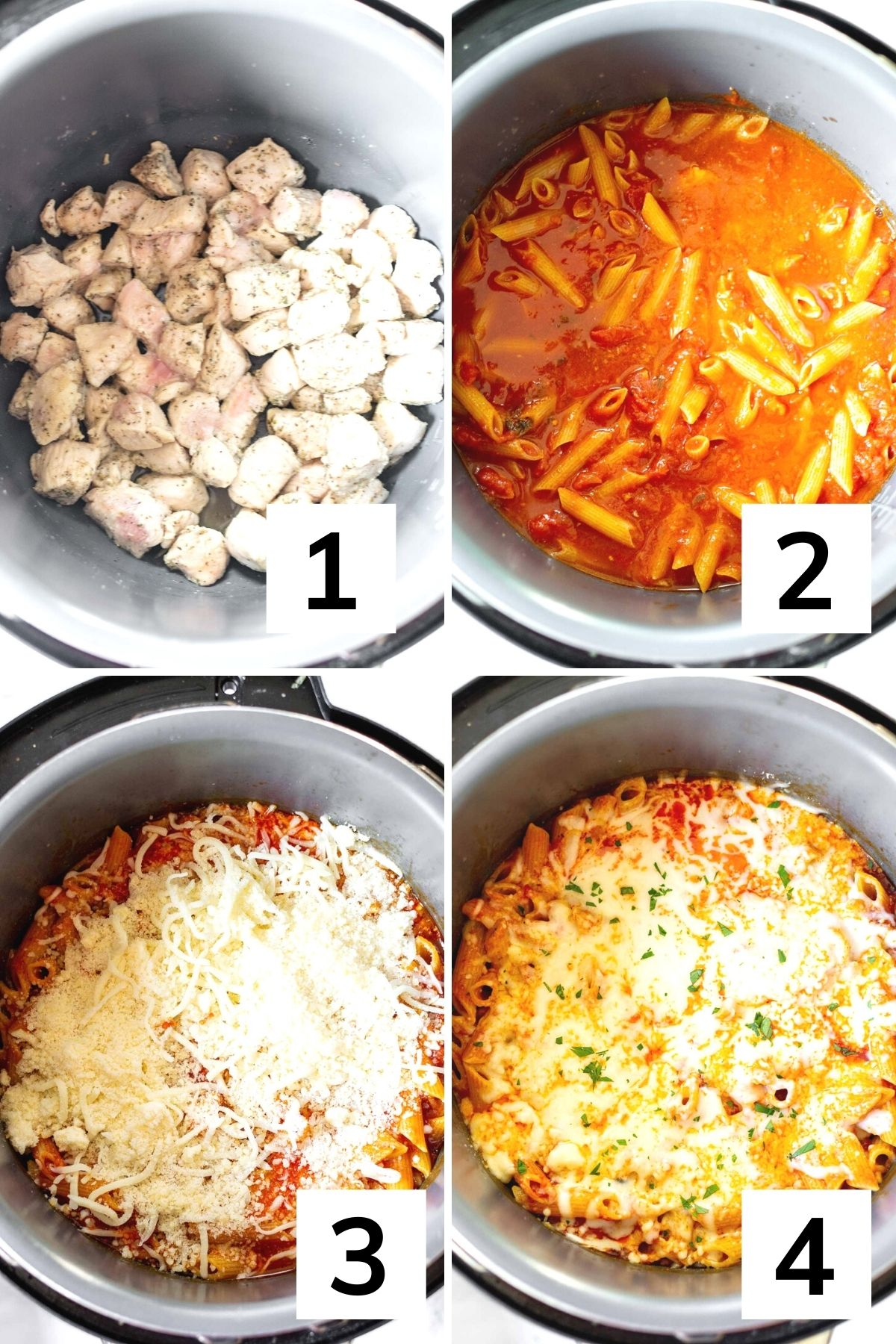 How to make instant pot penne pasta step by step