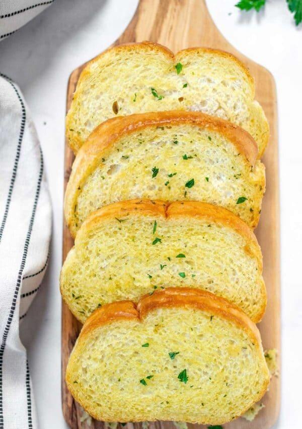 Air Fryer Frozen Garlic Bread