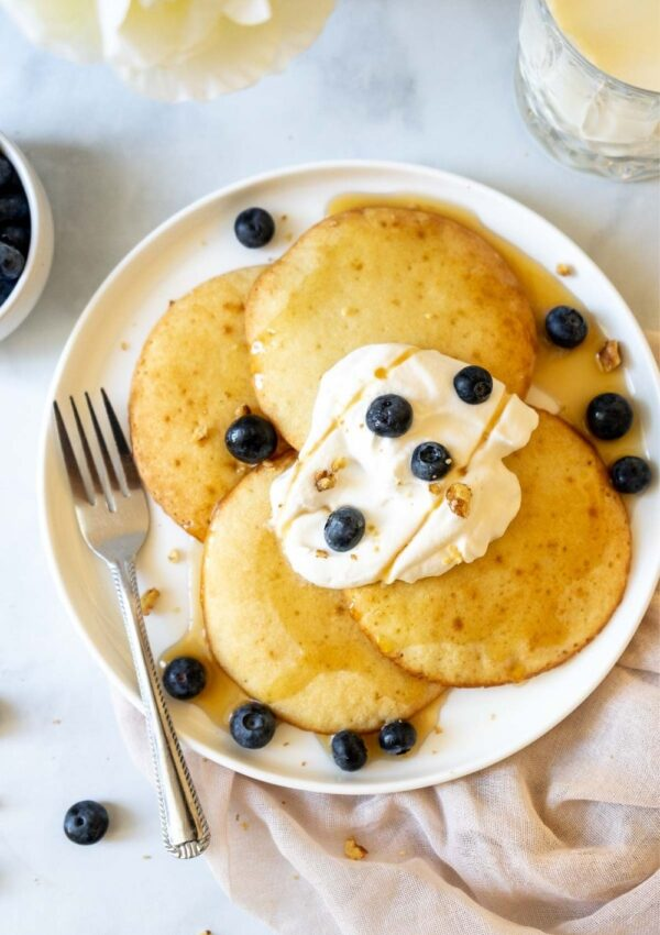 Perfect Air Fryer Pancakes