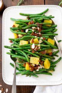 Green Beans with Pineapple and Bacon