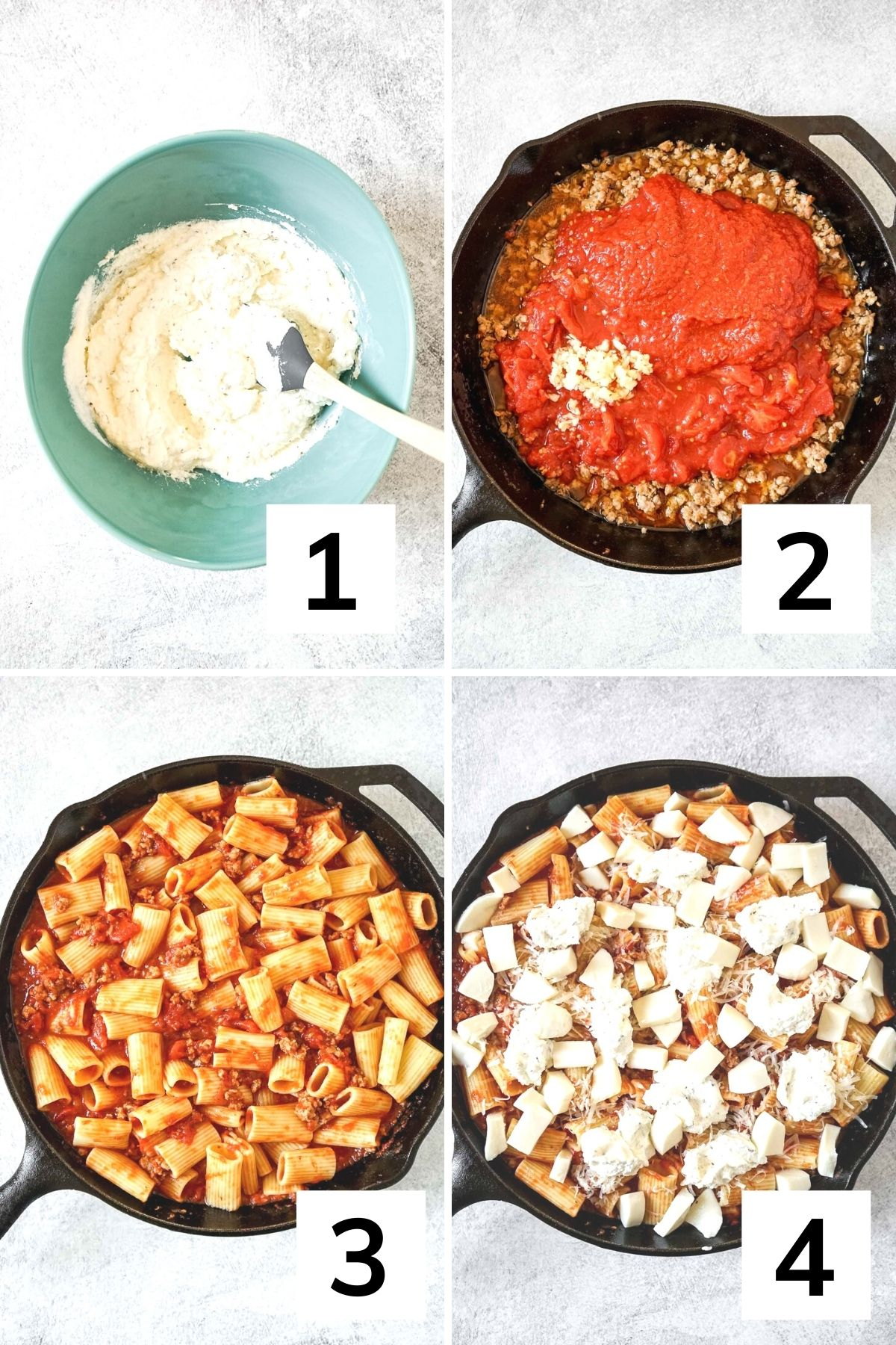 How to make Rigatoni al Forno step by step.