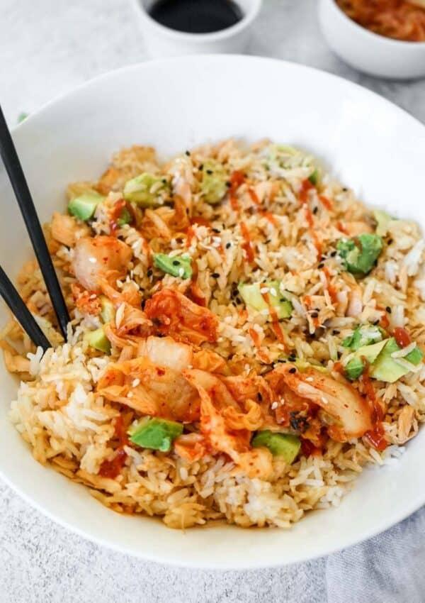 Viral TikTok Salmon and Rice Bowl Recipe